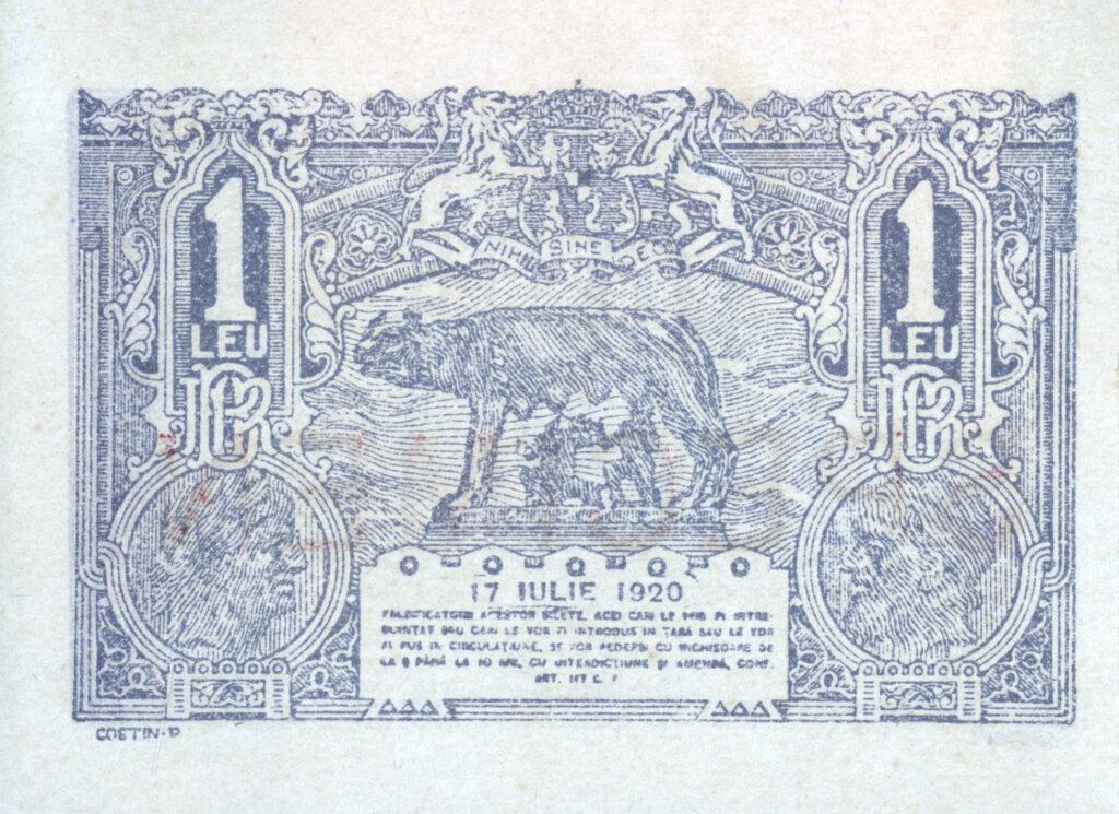 Imprimeria BNR - Istorie 1915