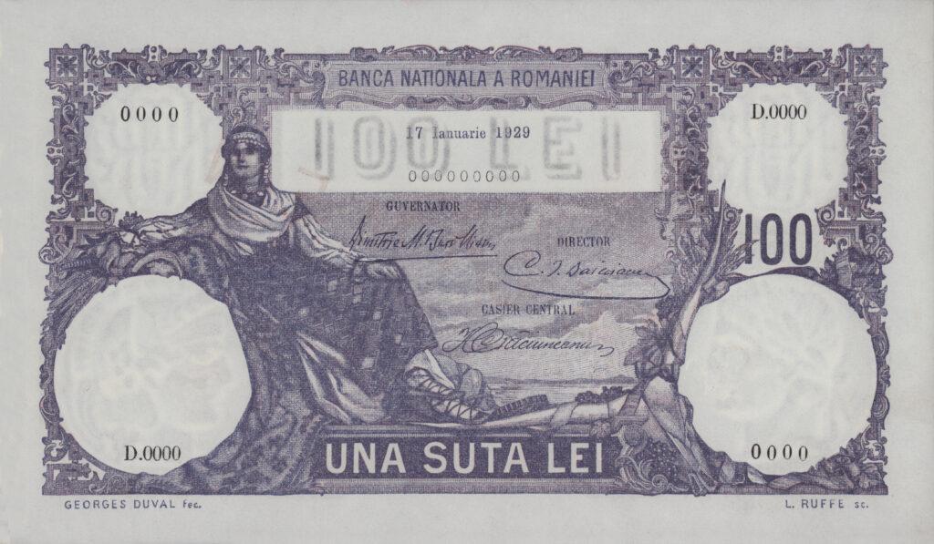 Imprimeria BNR - Istorie 1929